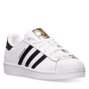 Adidas Superstar White Casual Sneakers/Women